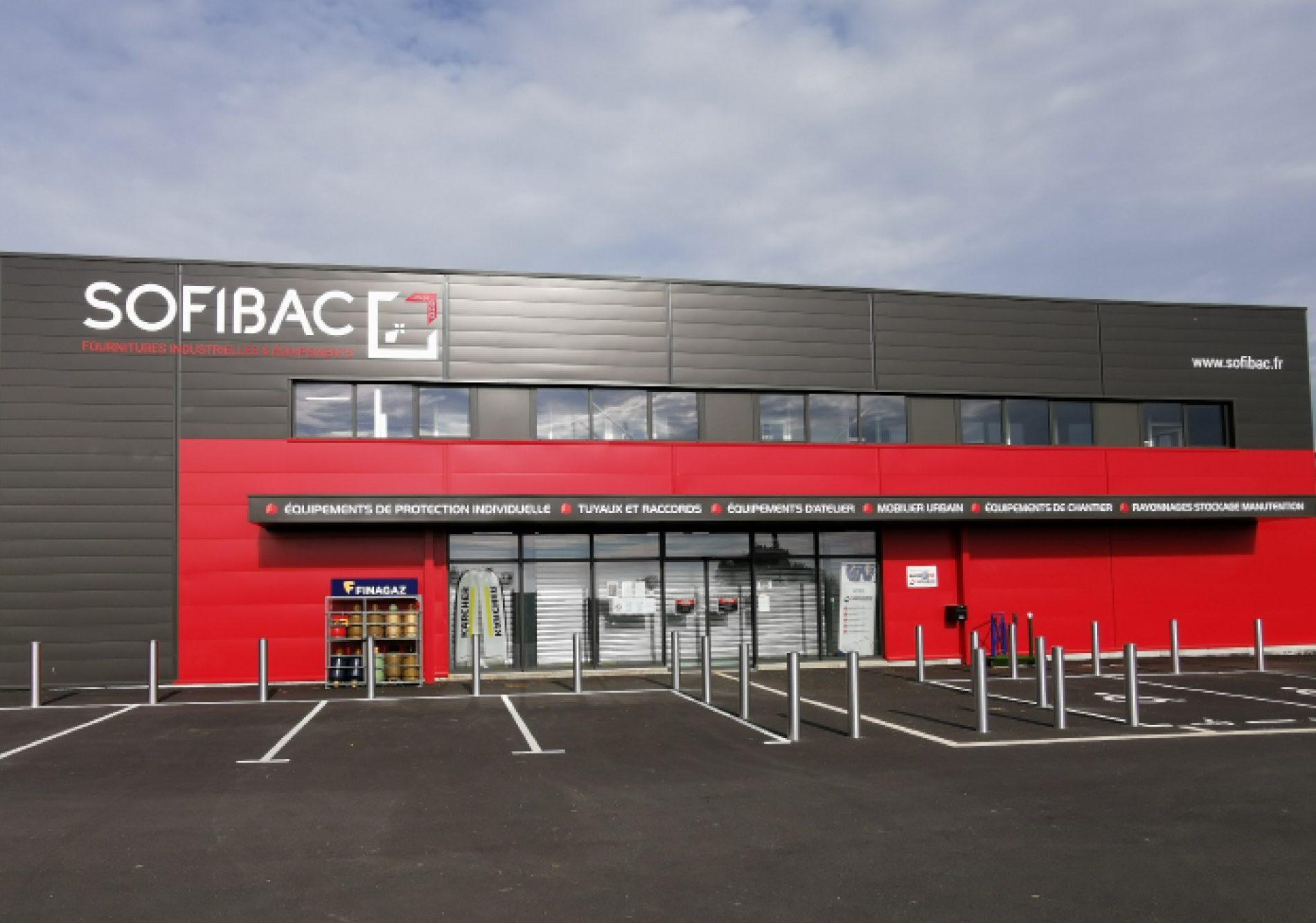 Travaux de bardage double peau de SOFIBAC à Pluguffan, Quimper, Finistère